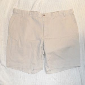 Izod Saltwater Cream Men Shorts 48